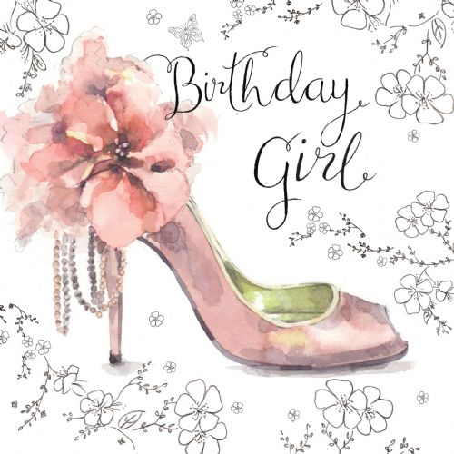 NES21 – Birthday Girl Card
